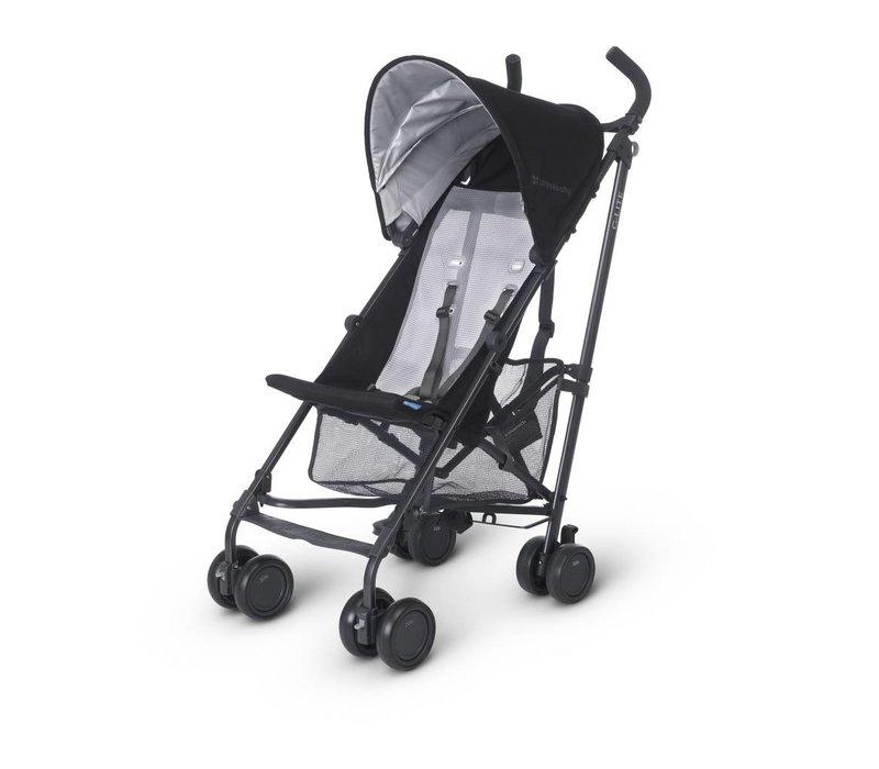 2018 Uppa Baby G-Lite Stroller In Jake (Black/Carbon)