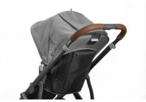UppaBaby Uppa Baby Vista Leather Brown Handlebar Covers-Saddle For Vista 2015-Later