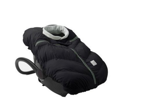 7 AM 7 A.M. Car Seat Cocoon In Black