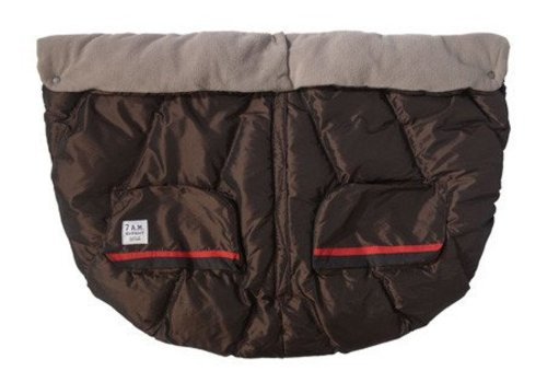 7 AM 7 A.M. Enfant Evolution Blanket DUO In Metallic Brown