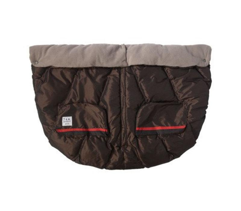 7 A.M. Enfant Evolution Blanket DUO In Metallic Brown