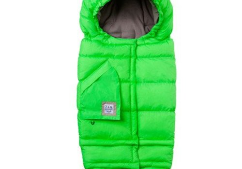 7 AM 7 A.M. Enfant Evolution Blanket In Neon Green