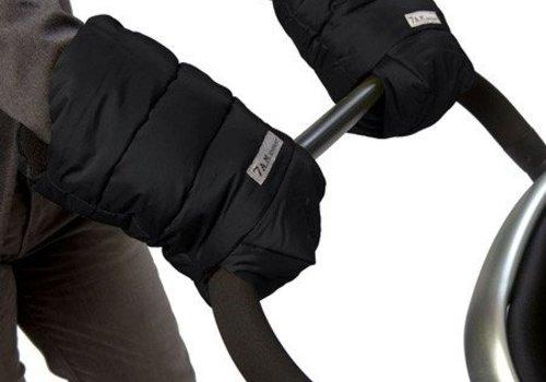 7 AM 7 A.M. Enfant Handmuffs Warmmuffs In Black
