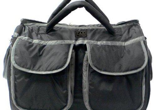 7 AM 7 A.M. Enfant Large Voyage Bag In Black