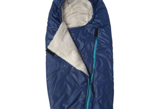 7 AM 7 A.M. Enfant Papoose Medium-Large Lightweight Footmuff In Navy