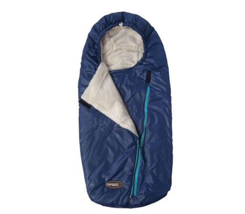 7 A.M. Enfant Papoose Medium-Large Lightweight Footmuff In Navy