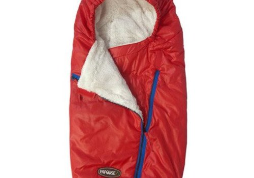 7 AM 7 A.M. Enfant Papoose Medium-Large Lightweight Footmuff In Red