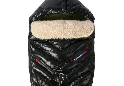 7 AM 7 A.M. Enfant Polar Igloo Large Footmuff In Black