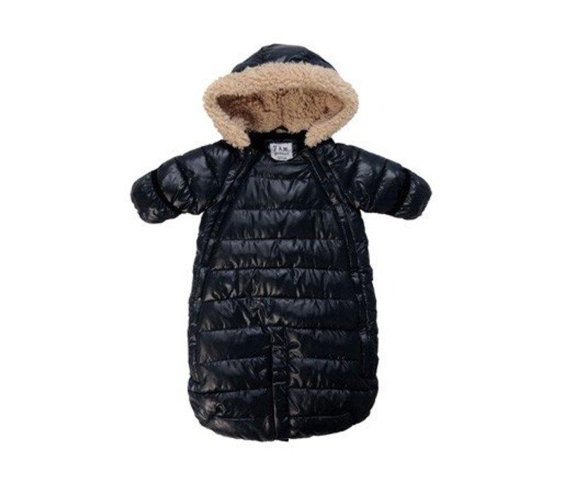 7 A.M. Snow Suit Bunting Doudoune Medium In Black