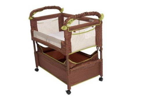 Arms Reach Arm's Reach Clear Vue Co-Sleeper In Cocoa