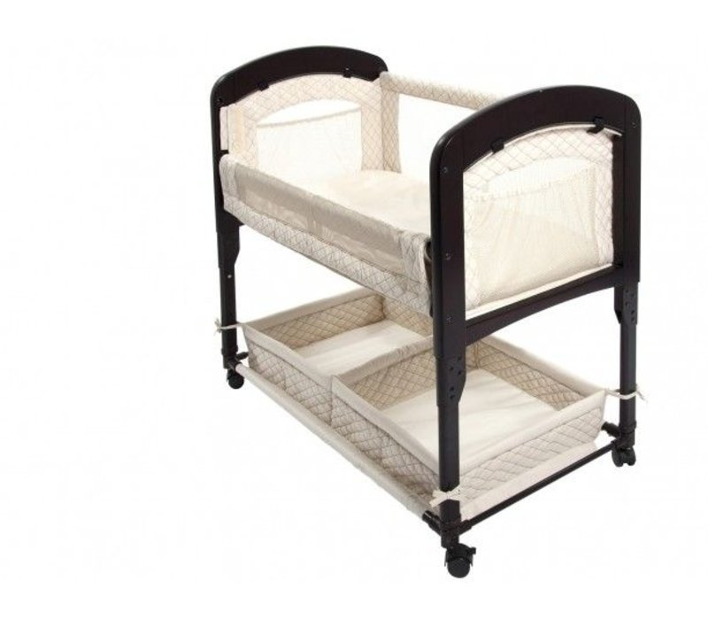 Arm's Reach Co-Sleeper Cambria Bassinet, Natural With Out Skirt