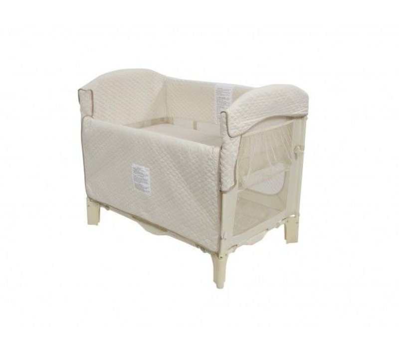 Arm's Reach Ideal Co-Sleeper Bedside Bassinet In Natural