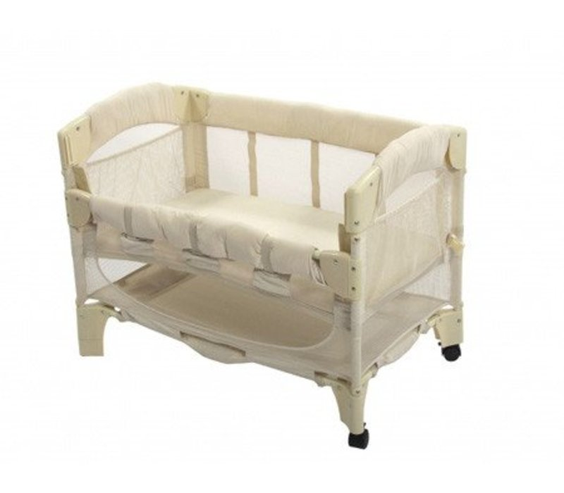 Arm's Reach Mini Arc Co-Sleeper In Natural European