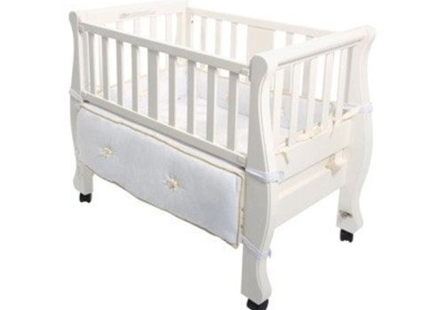 Arms Reach Arm's Reach Sleigh Co-Sleeper In White