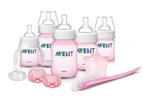 Avent Philips Avent Classic+ Newborn Starter Set in Pink