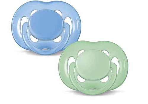 Avent Philips Avent Freeflow Pacifier 6-18 Month  In Blue-Green 2-pack