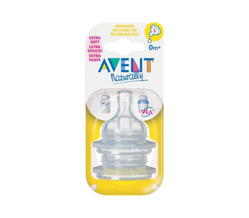 Philips Avent Classic Newborn Nipple 2 In A Package #1