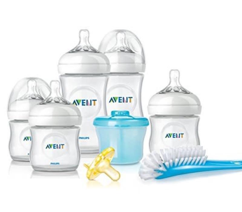 Philips Avent Natural Bpa Free Baby Bottle Newborn Starter Gift Set