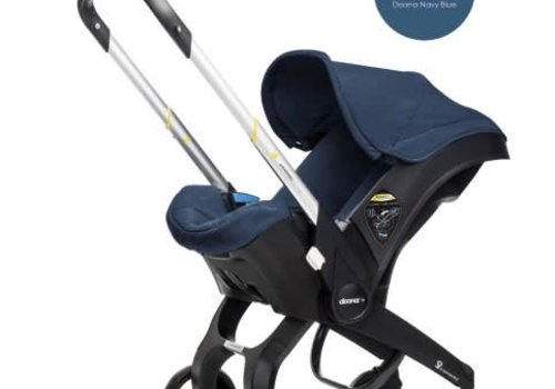 Doona Doona Infant Car Seat - Stroller With Infant Car Seat Base Navy-Marine