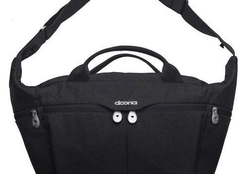 Doona Doona All-Day Bag In Black-Night