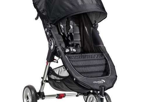 Baby Jogger 2018 Baby Jogger City Mini 3 Wheel Single In Black - Gray