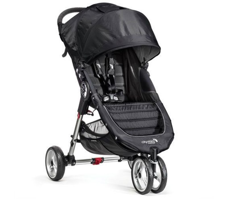 2018 Baby Jogger City Mini 3 Wheel Single In Black - Gray