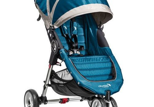 Baby Jogger 2018 Baby Jogger City Mini 3 Wheel Single In Teal - Gray