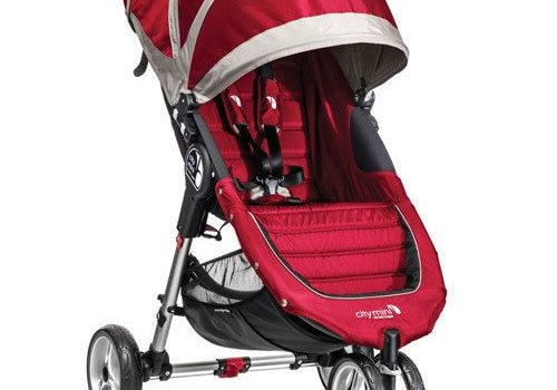 Baby Jogger 2017 Baby Jogger City Mini 3 Wheel Single In Crimson - Gray