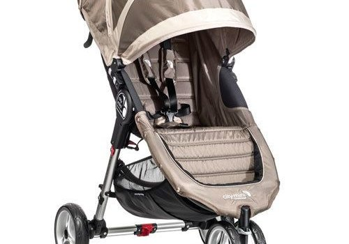 Baby Jogger 2017 Baby Jogger City Mini 3 Wheel Single In Sand - Stone