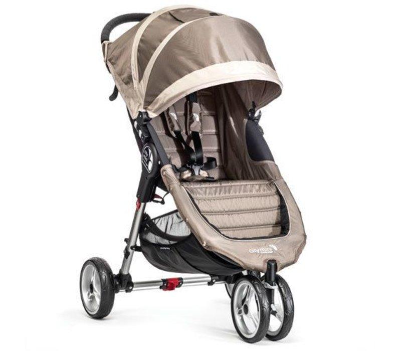 2018 Baby Jogger City Mini 3 Wheel Single In Sand - Stone