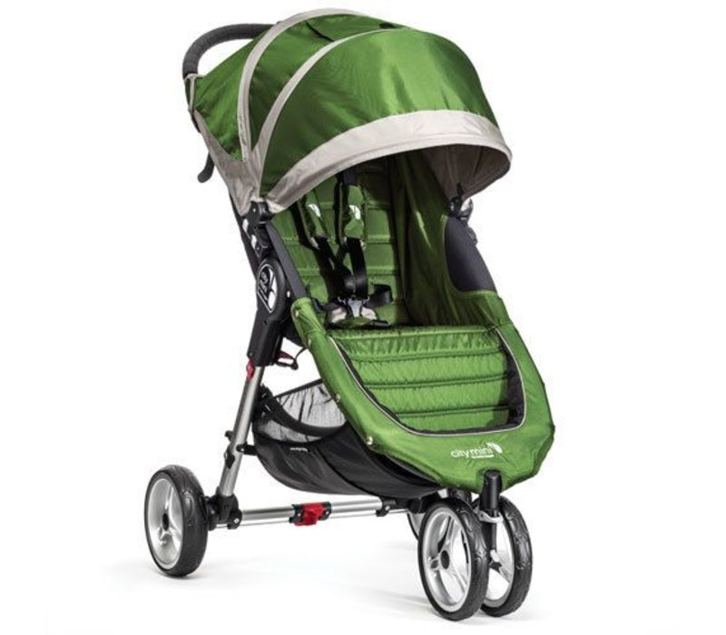 2018 Baby Jogger City Mini 3 Wheel Single In Evergreen