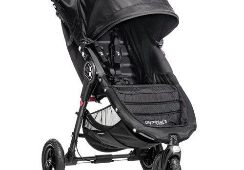 Baby Jogger 2018 Baby Jogger City Mini GT Single In Black - Black