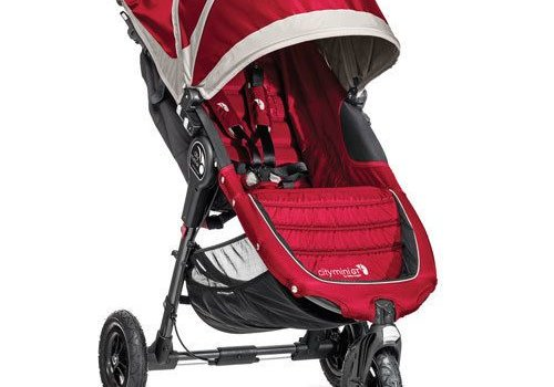 Baby Jogger 2018 Baby Jogger City Mini GT Single In Crimson - Gray