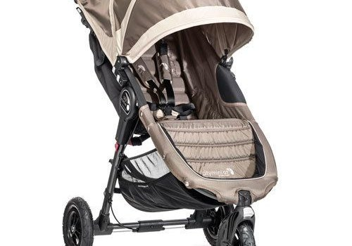 Baby Jogger 2017 Baby Jogger City Mini GT Single In Sand - Stone