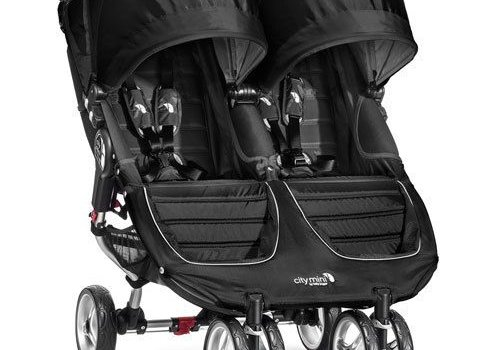 Baby Jogger 2017 Baby Jogger City Mini Double In Black - Gray