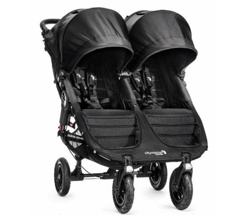 2017 Baby Jogger City Mini GT Double In Black - Black