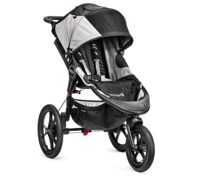 Baby Jogger Summit X3 Single Stroller In Black- Gray