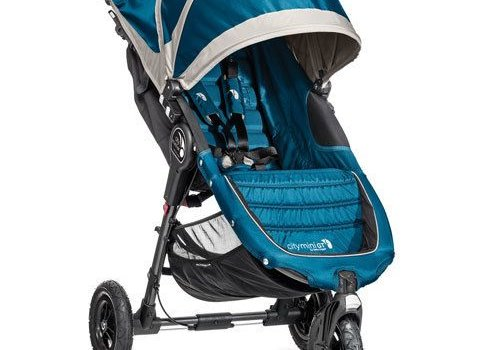 Baby Jogger 2018 Baby Jogger City Mini GT Single In Teal - Gray