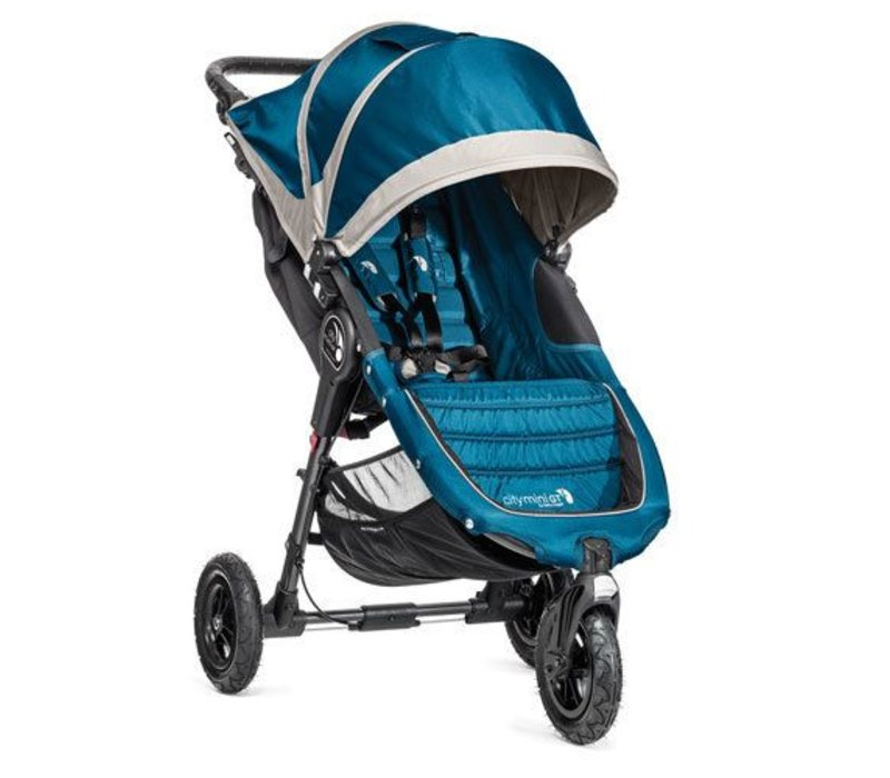 2017 Baby Jogger City Mini GT Single In Teal - Gray