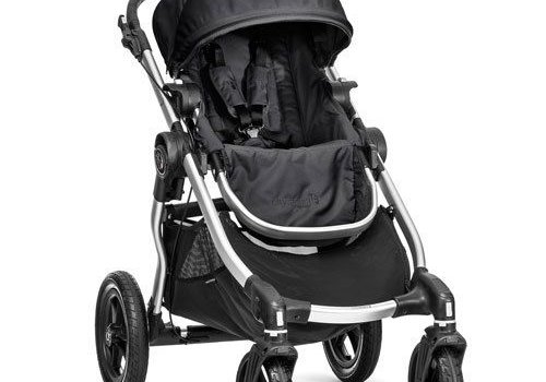 Baby Jogger 2017 Baby Jogger City Select Single In Onyx With Silver Frame