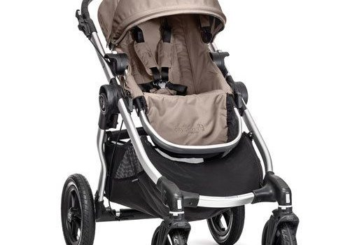 Baby Jogger 2017 Baby Jogger City Select Single In Quartz With Silver Frame