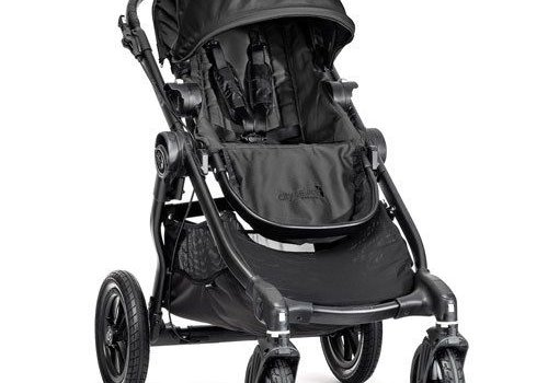 Baby Jogger 2017 Baby Jogger City Select Single In Black With Black Frame