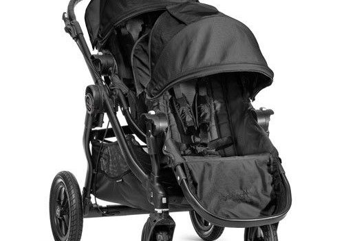 Baby Jogger 2017 Baby Jogger City Select With Second Seat In Black With Black Frame