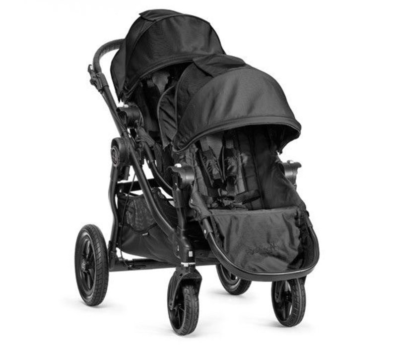 2017 Baby Jogger City Select With Second Seat In Black With Black Frame