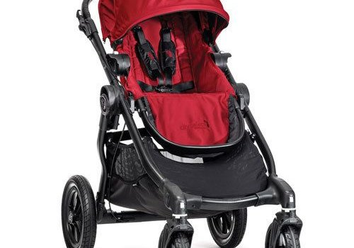 Baby Jogger 2017 Baby Jogger City Select Single In Red With Black Frame