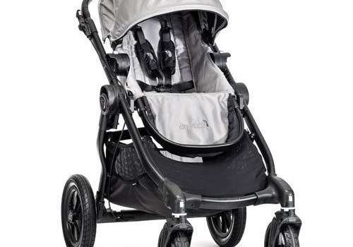 Baby Jogger 2017 Baby Jogger City Select Single In Silver With Black Frame