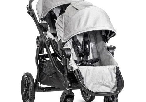 Baby Jogger 2017 Baby Jogger City Select With Second Seat In Silver With Black Frame
