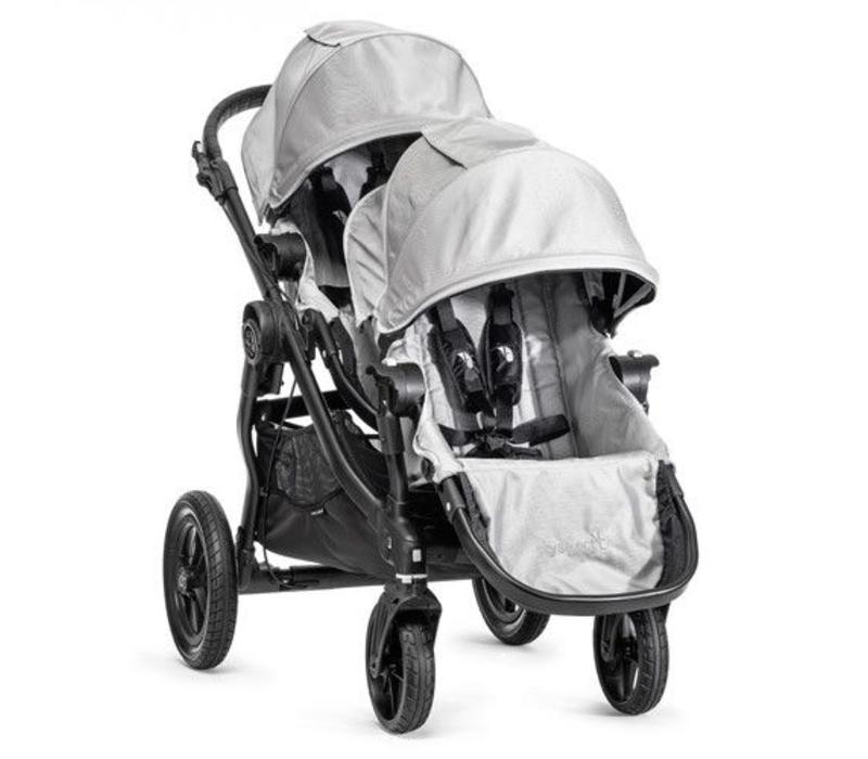 2017 Baby Jogger City Select With Second Seat In Silver With Black Frame