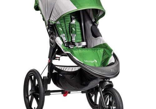 Baby Jogger Baby Jogger Summit X3 Single Stroller In Green - Gray
