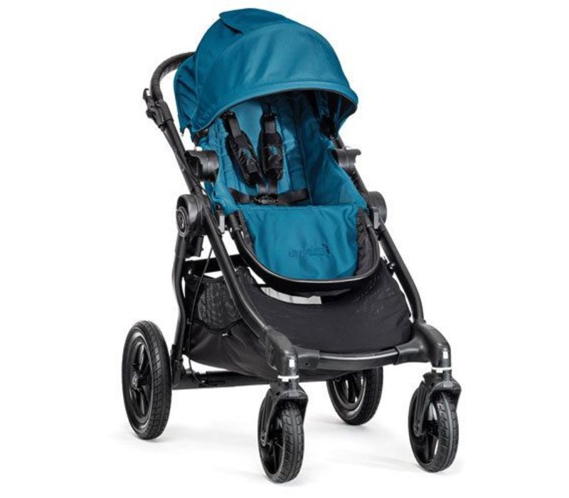 2017 Baby Jogger City Select Single In Teal With Black Frame